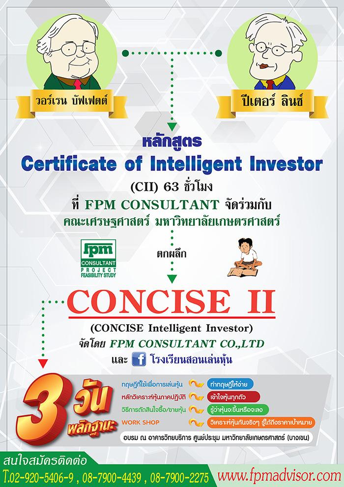 Concise Intelligent Investor (Concise II)